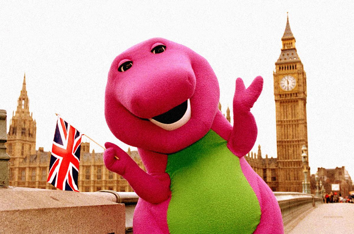 Barney Dino
