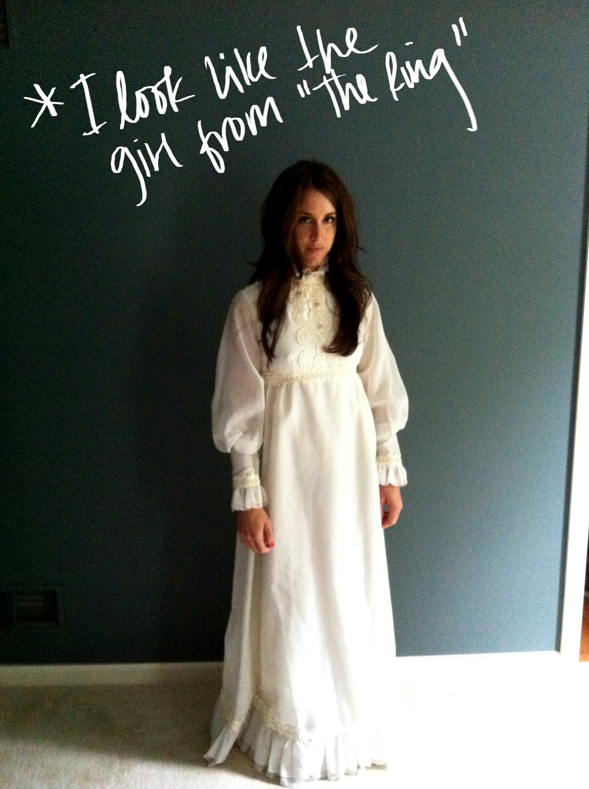 Gravestones and a Wedding Dress. – LALA LAND