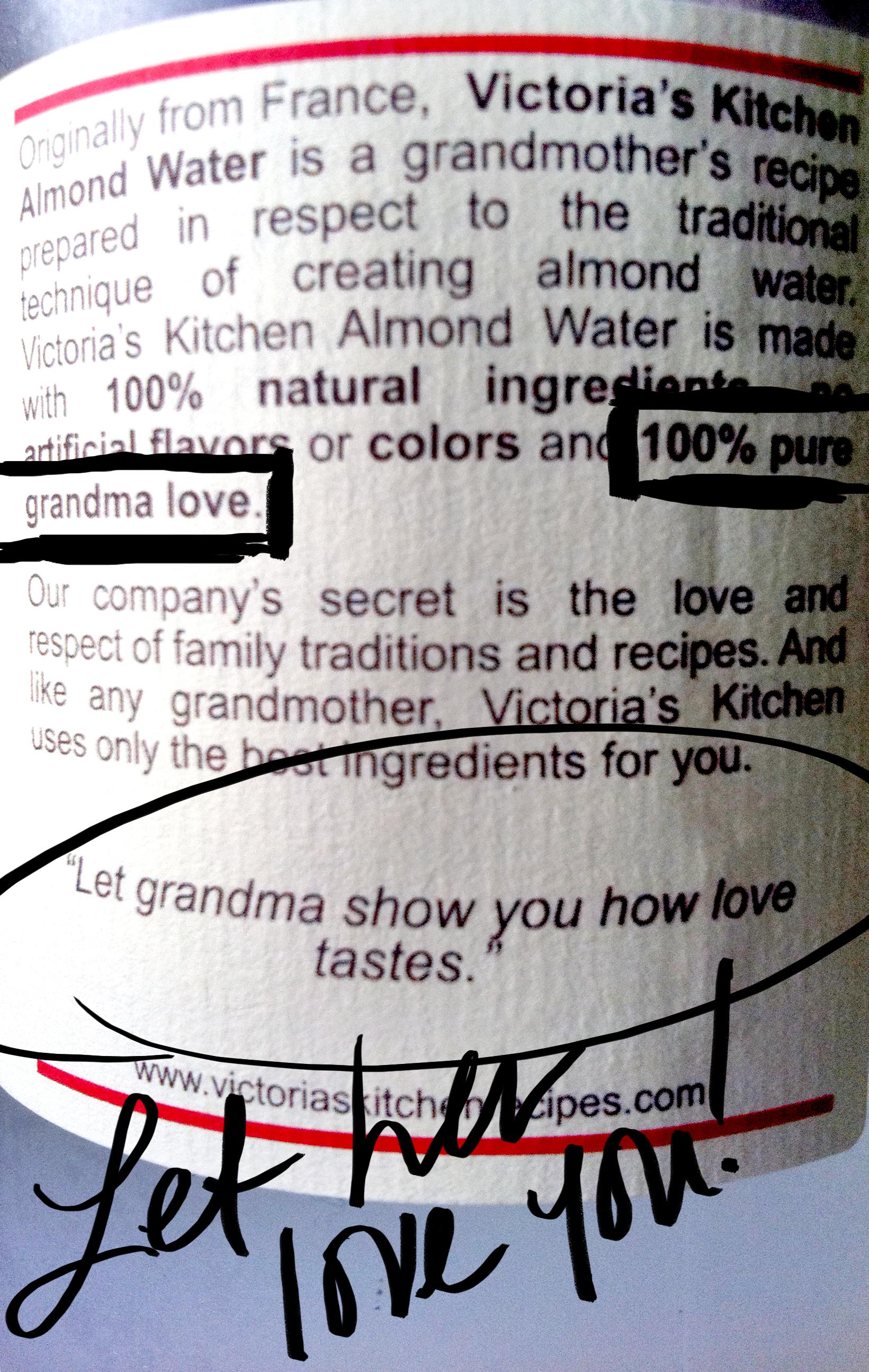 Drink 100% Grandma Love. – LALA LAND
