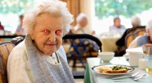 old-woman-and-dinner