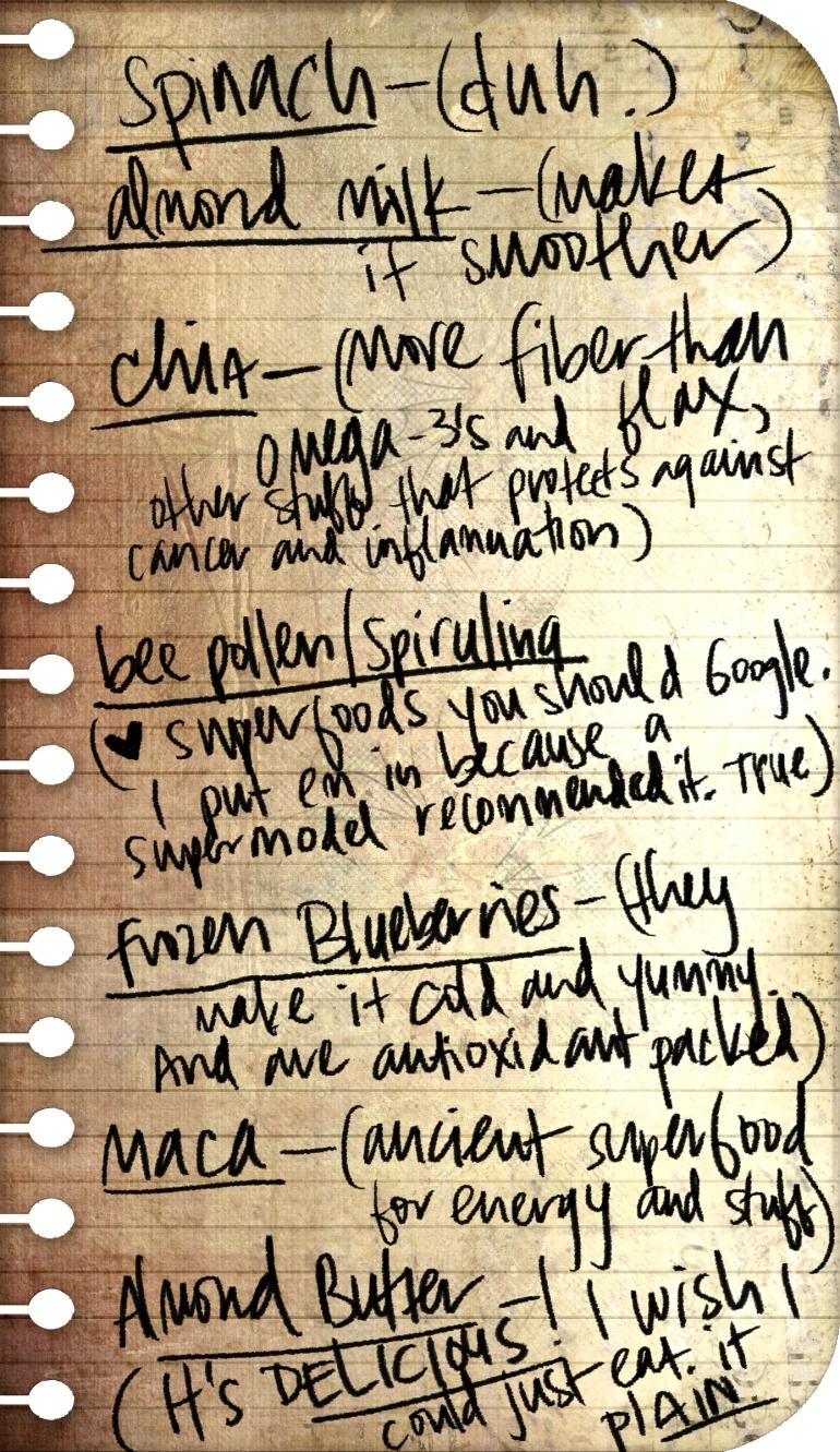 smoothie-checklist